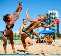 2016 Oceania Beach Handball World Championships Qualification: Womens Game 1