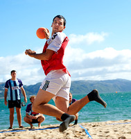 2014 Wellington Beach Handball - Morning Games