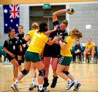2011 Oceania Handball Womens World Championship Qualification: New Zealand vs Australia Game 1